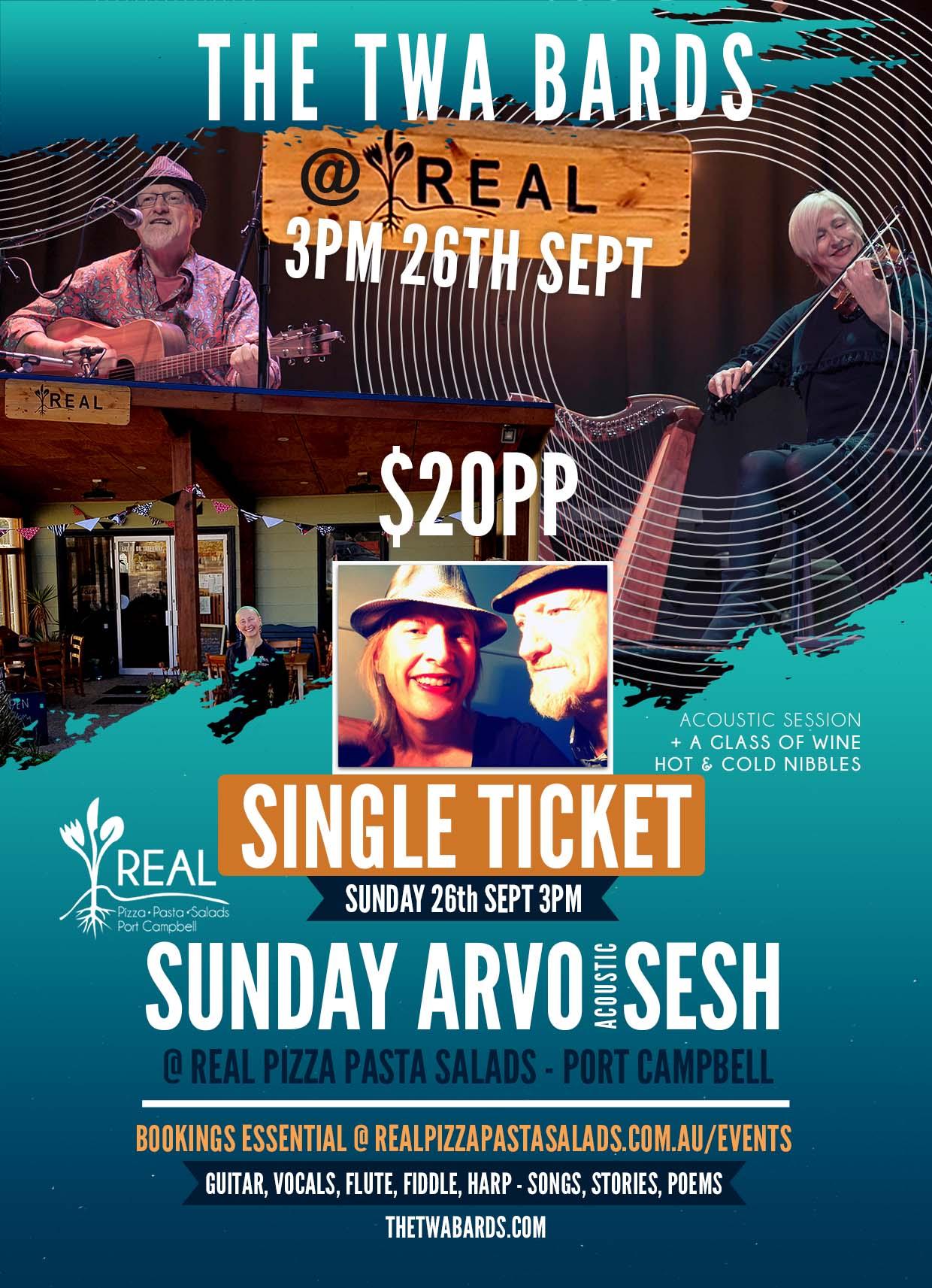Sunday Sesh Ticket 26 Sept 2021